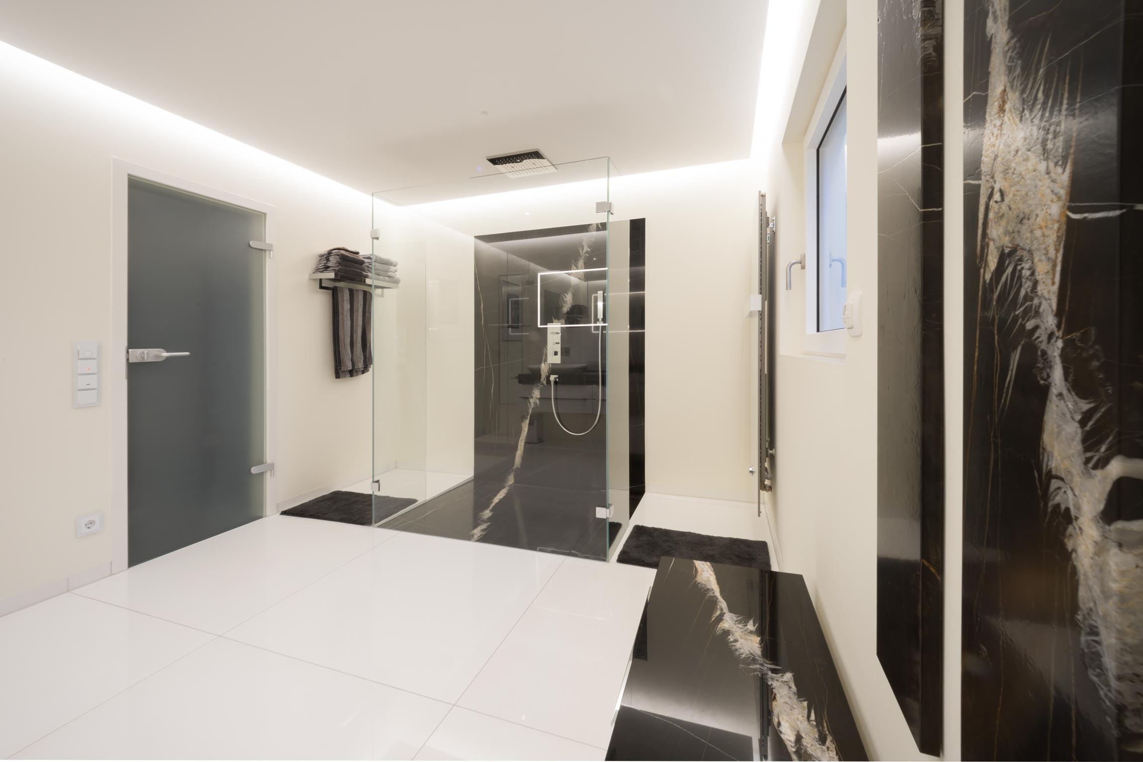 modernes minimalistisches haus interieur
